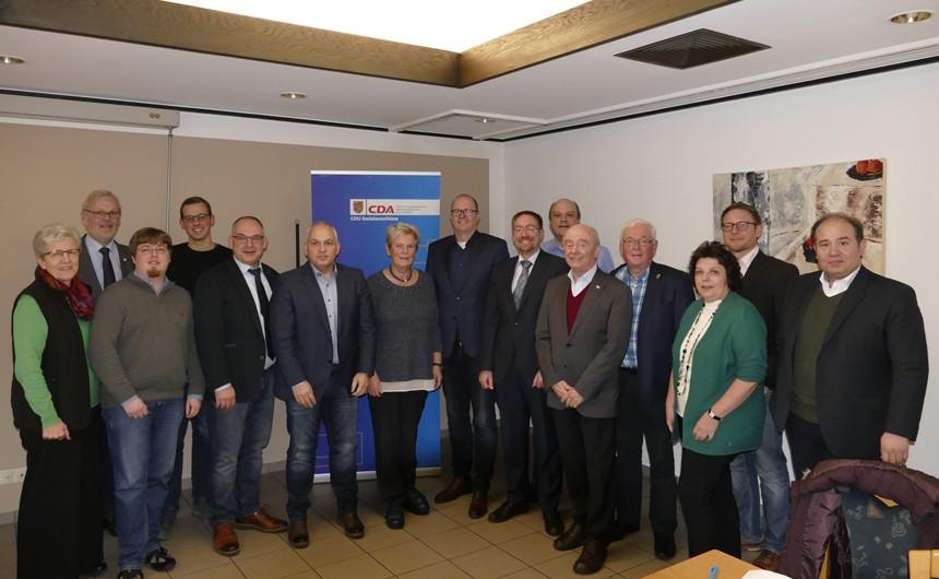 Zahlreiche Themen diskutierte der CDA-Stadtverband auf seiner Mitgliederversammlung. Foto: Dülmener Zeitung / Tatjana Thüner